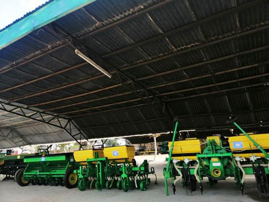 أول محطة للزراعة الآلية بالفيوم (7)