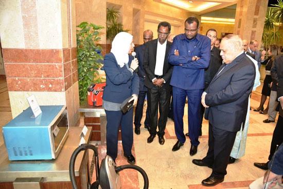 السفير التشادى بالقاهرة (1)