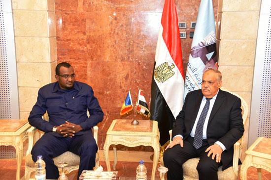 السفير التشادى بالقاهرة (3)