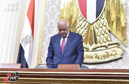 تأبين البرلمان للنائب محمد بدوي دسو (3)