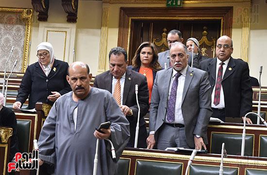 تأبين البرلمان للنائب محمد بدوي دسو (4)