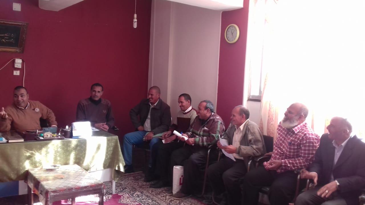 الاجتماع الأسبوعى لمديرى الجمعيات (2)