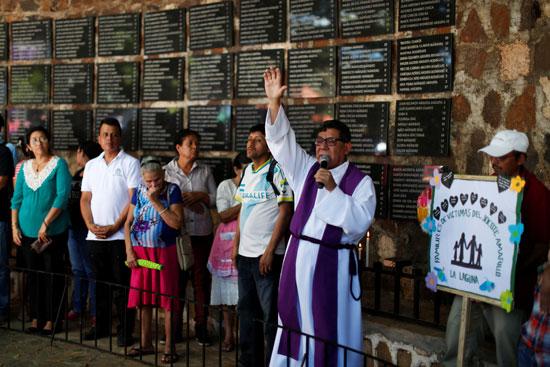 إحياء  الذكرى الـ38 لمذبحة الموزوت فى السلفادور