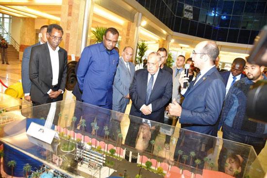 السفير التشادى بالقاهرة (2)