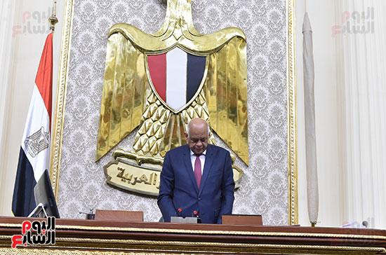 تأبين البرلمان للنائب محمد بدوي دسو