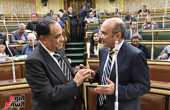المستشار عمرو مروان والنائب كمال أحمد
