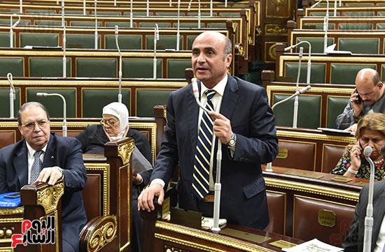 تأبين البرلمان للنائب محمد بدوي دسو (12)