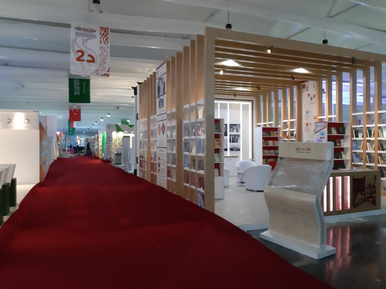 استعدادات معرض جدة الدولى للكتاب  (16)