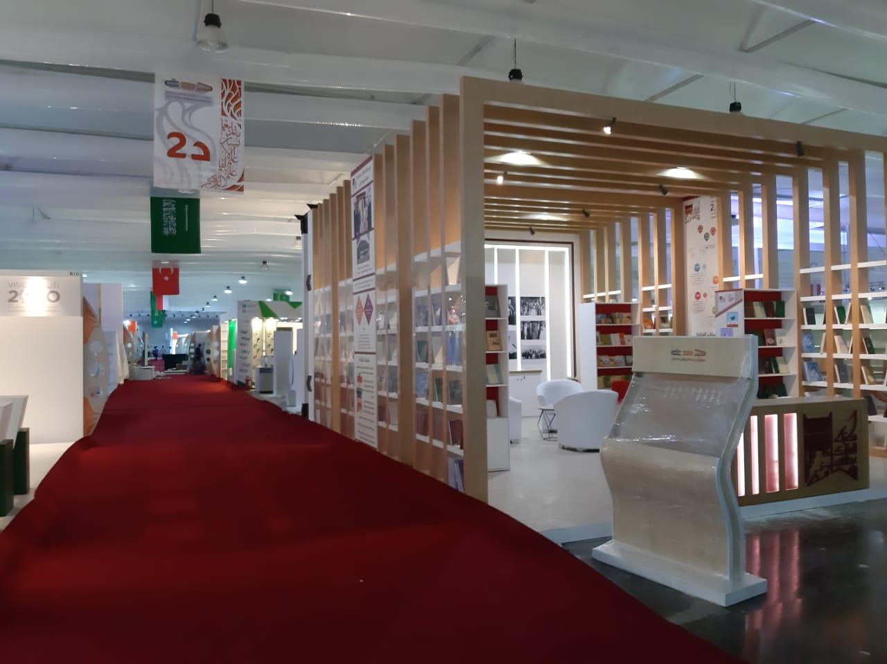استعدادات معرض جدة الدولى للكتاب  (14)