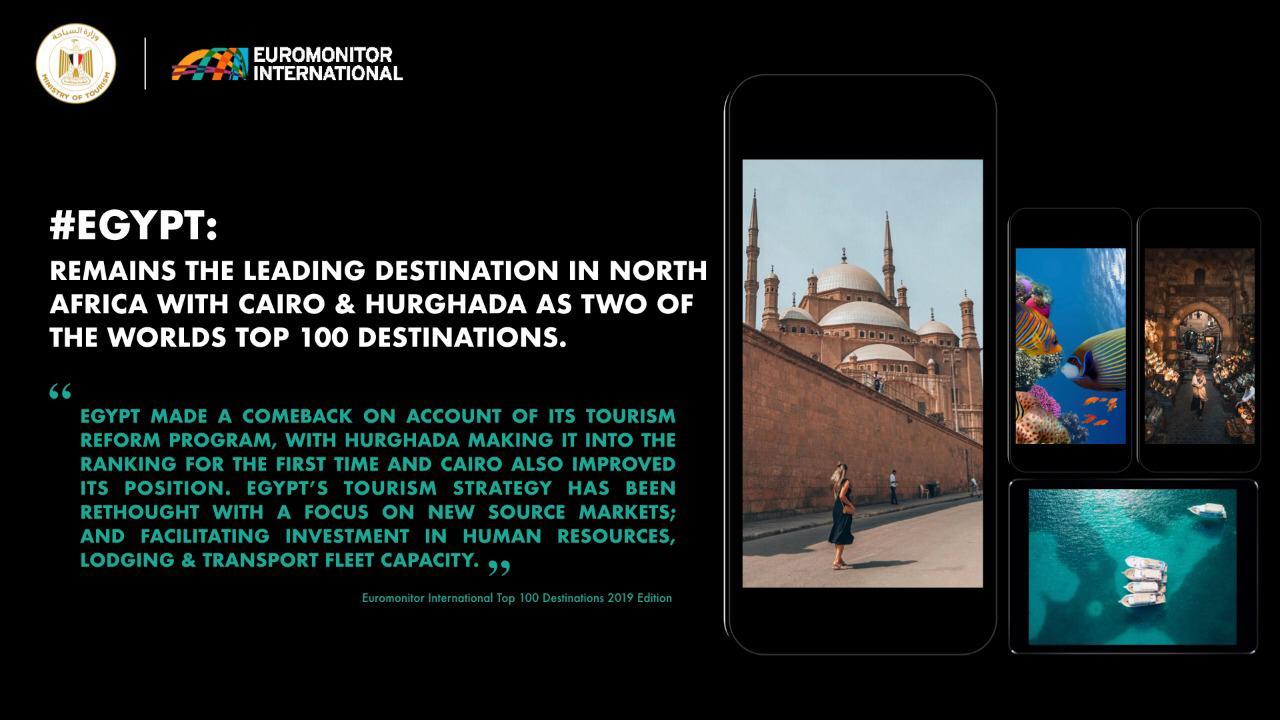ووزيرة السياحة تشيد باختيار مدينتى القاهرة والغردقة ضمن أفضل 100 مدينة سياحية (1)