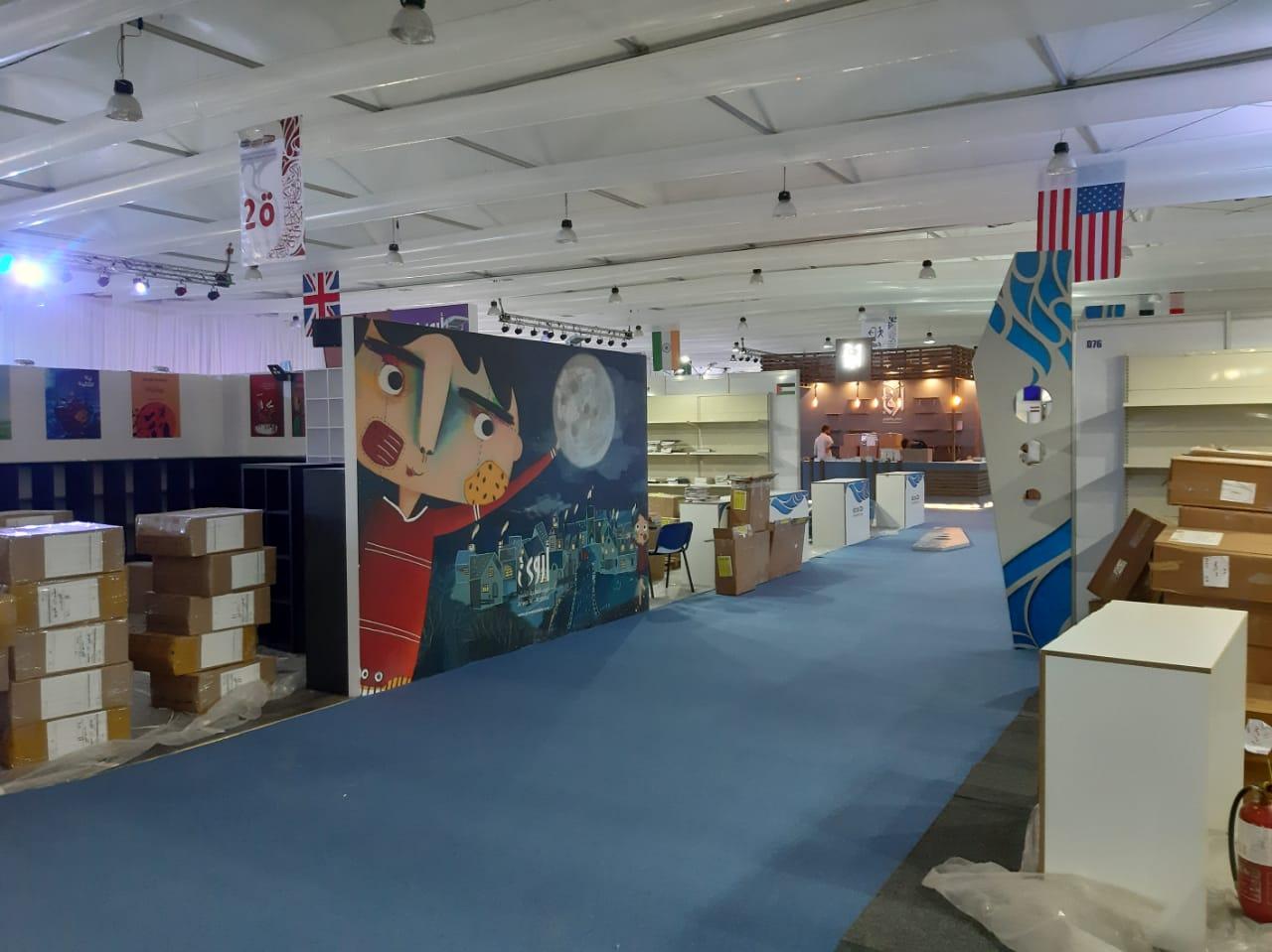 استعدادات معرض جدة الدولى للكتاب  (18)