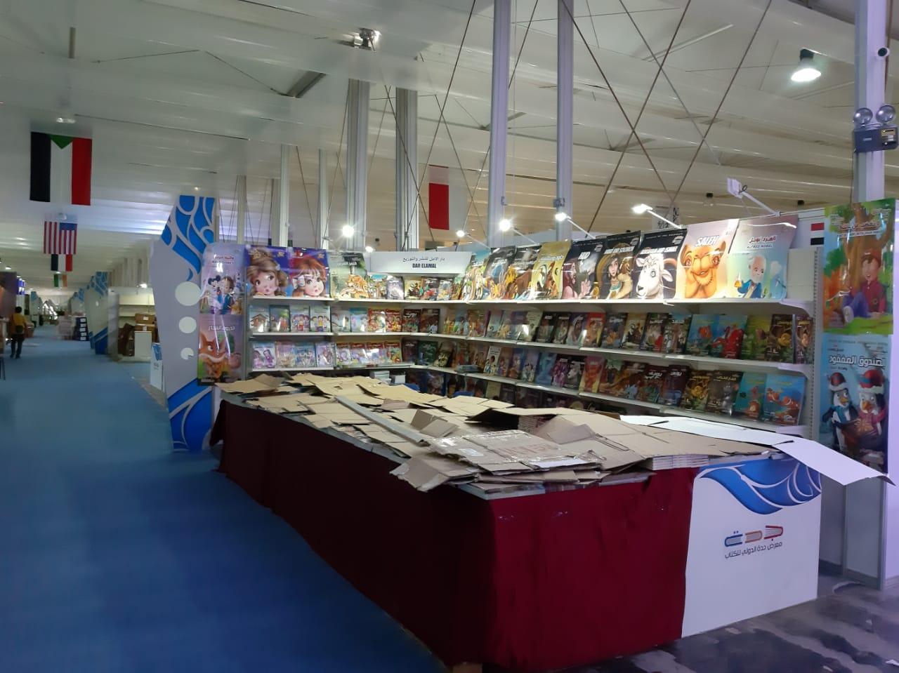 استعدادات معرض جدة الدولى للكتاب  (3)