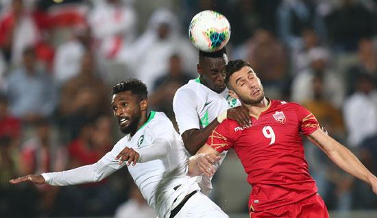 القوة عنوان مباراة البحرين ضد السعودية
