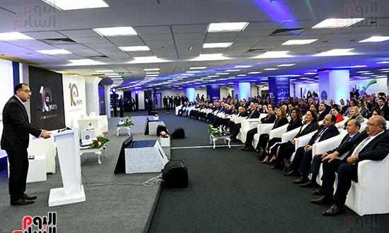 رئيس الوزراء يشهد احتفال الرقابة المالية بمناسبة مرور 10 سنوات على إنشائها (18)