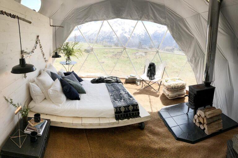 خيمة قبة فاخرة