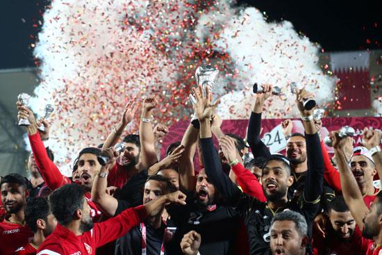 منتخب البحرين يتوج بكأس الخليج