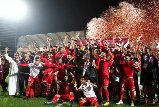 منتخب البحرين  وفرحة الفوز