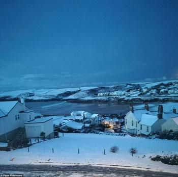 الثلوج كست بريطانيا فو اسوأ موجة طقس منذ 7 سنوات  (16)