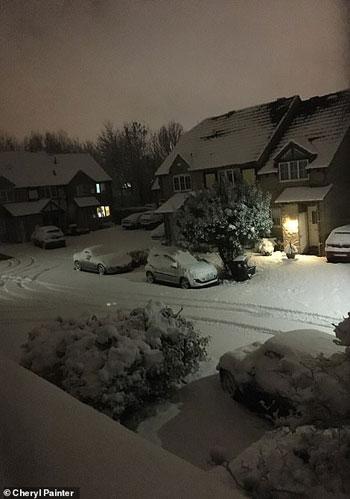 الثلوج كست بريطانيا فو اسوأ موجة طقس منذ 7 سنوات  (1)