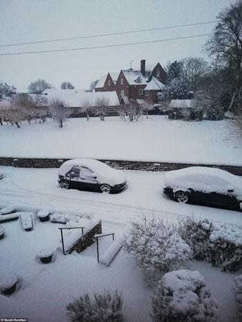 الثلوج كست بريطانيا فو اسوأ موجة طقس منذ 7 سنوات  (18)