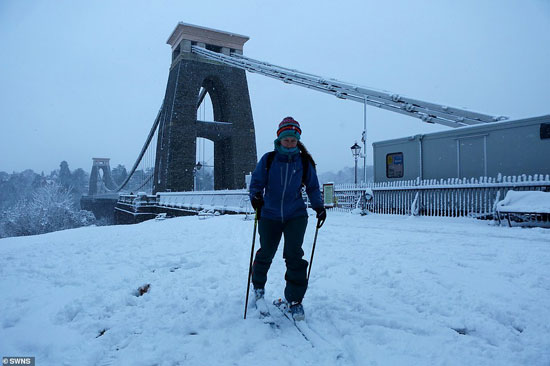 الثلوج كست بريطانيا فو اسوأ موجة طقس منذ 7 سنوات  (5)