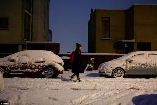 الثلوج كست بريطانيا فو اسوأ موجة طقس منذ 7 سنوات  (6)