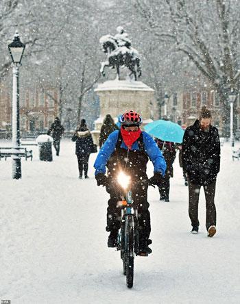 الثلوج كست بريطانيا فو اسوأ موجة طقس منذ 7 سنوات  (21)