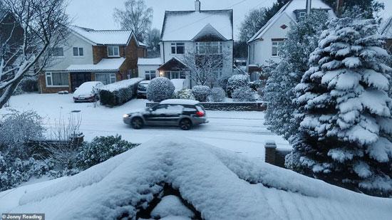 الثلوج كست بريطانيا فو اسوأ موجة طقس منذ 7 سنوات  (15)