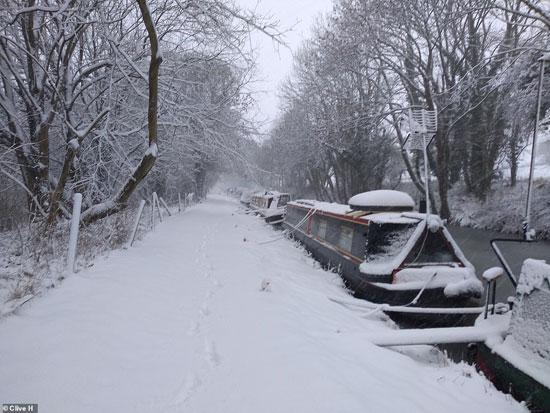 الثلوج كست بريطانيا فو اسوأ موجة طقس منذ 7 سنوات  (20)