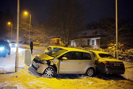 الثلوج كست بريطانيا فو اسوأ موجة طقس منذ 7 سنوات  (2)