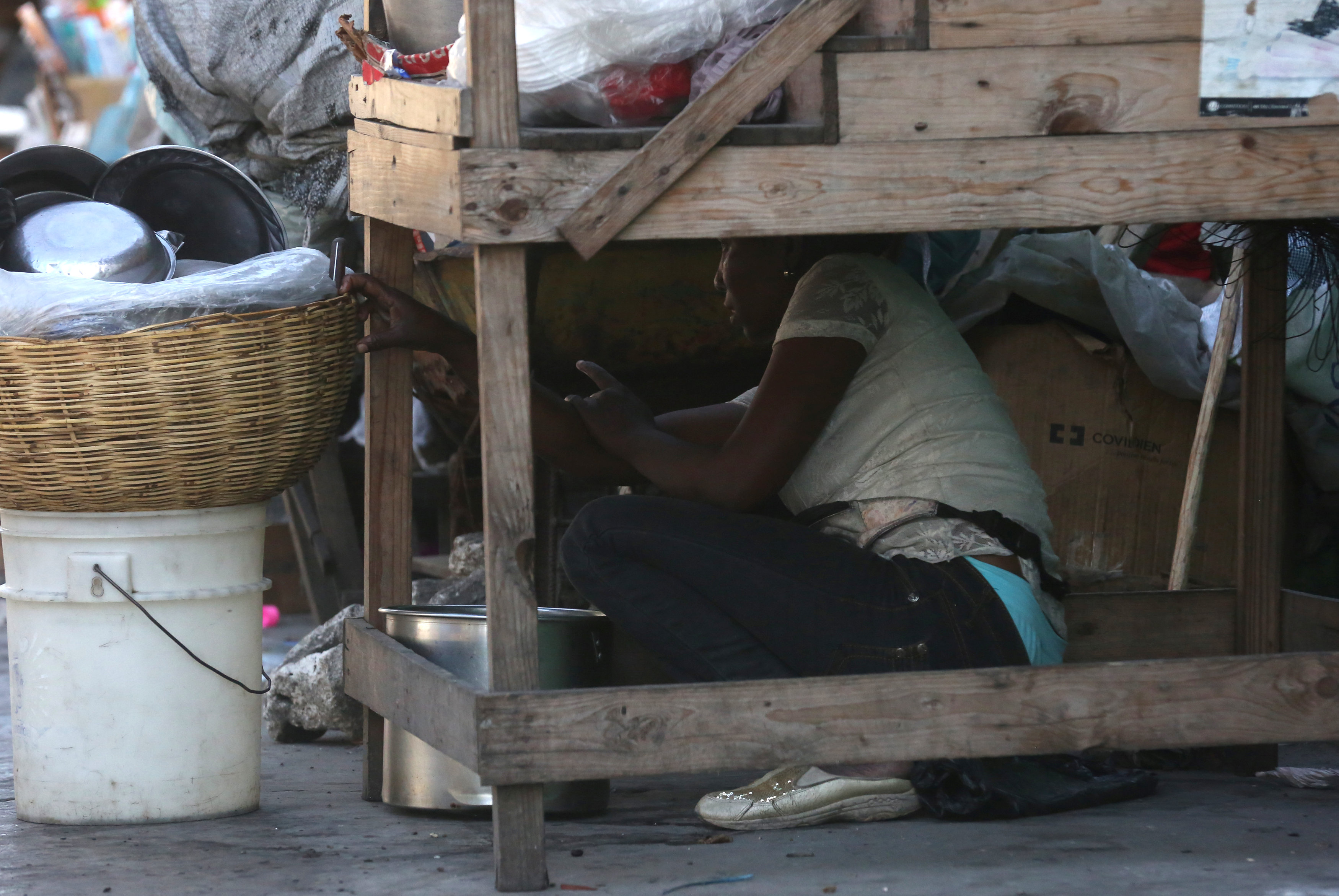 شوارع هايتى تتحول لساحة حرب خلال مظاهرات عنيفة  (2)