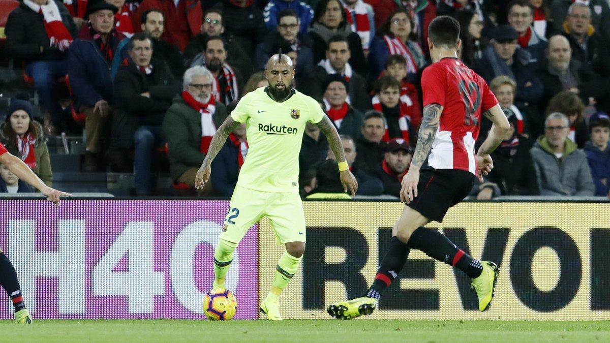 مباراة اتليتيك بيلباو ضد برشلونة