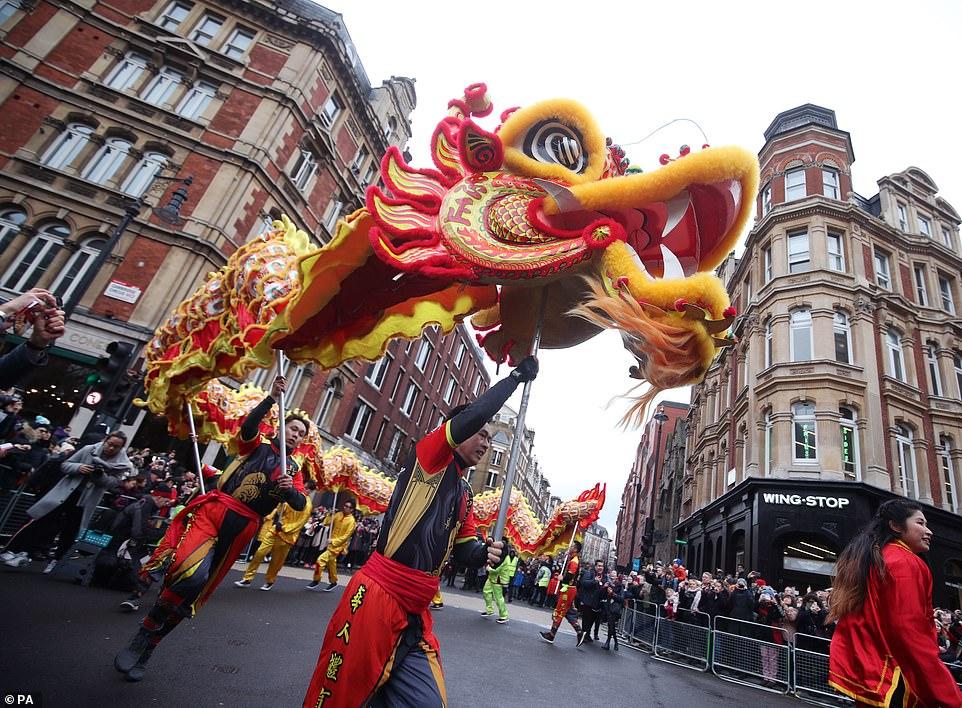 احتفال السنة الصينية الجديدة (9)