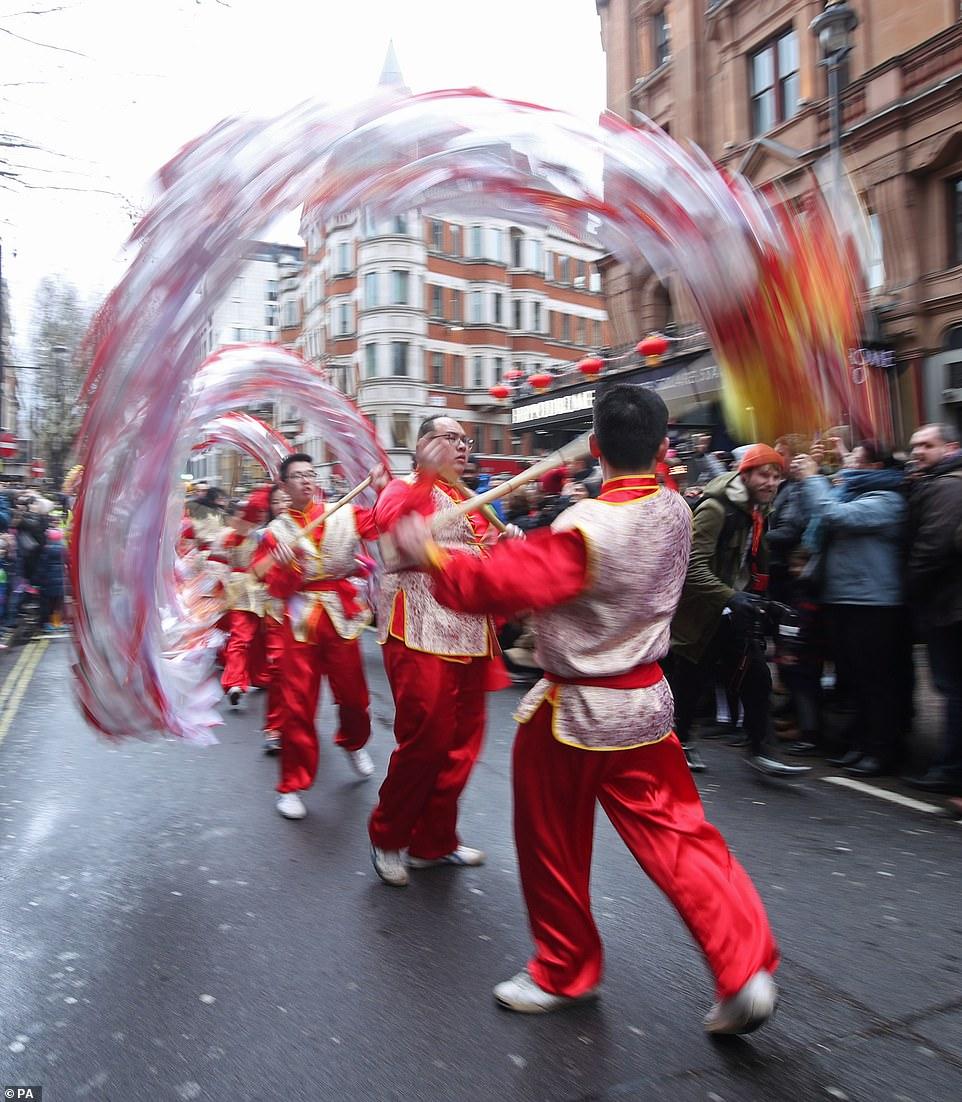 احتفال السنة الصينية الجديدة (8)