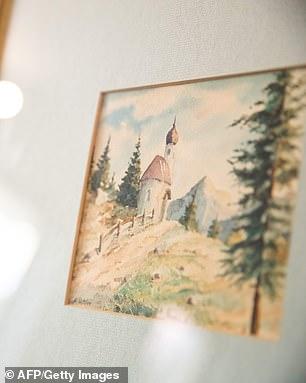 لوحات أدولف هتلر  (3)