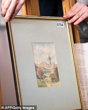 لوحات أدولف هتلر  (2)