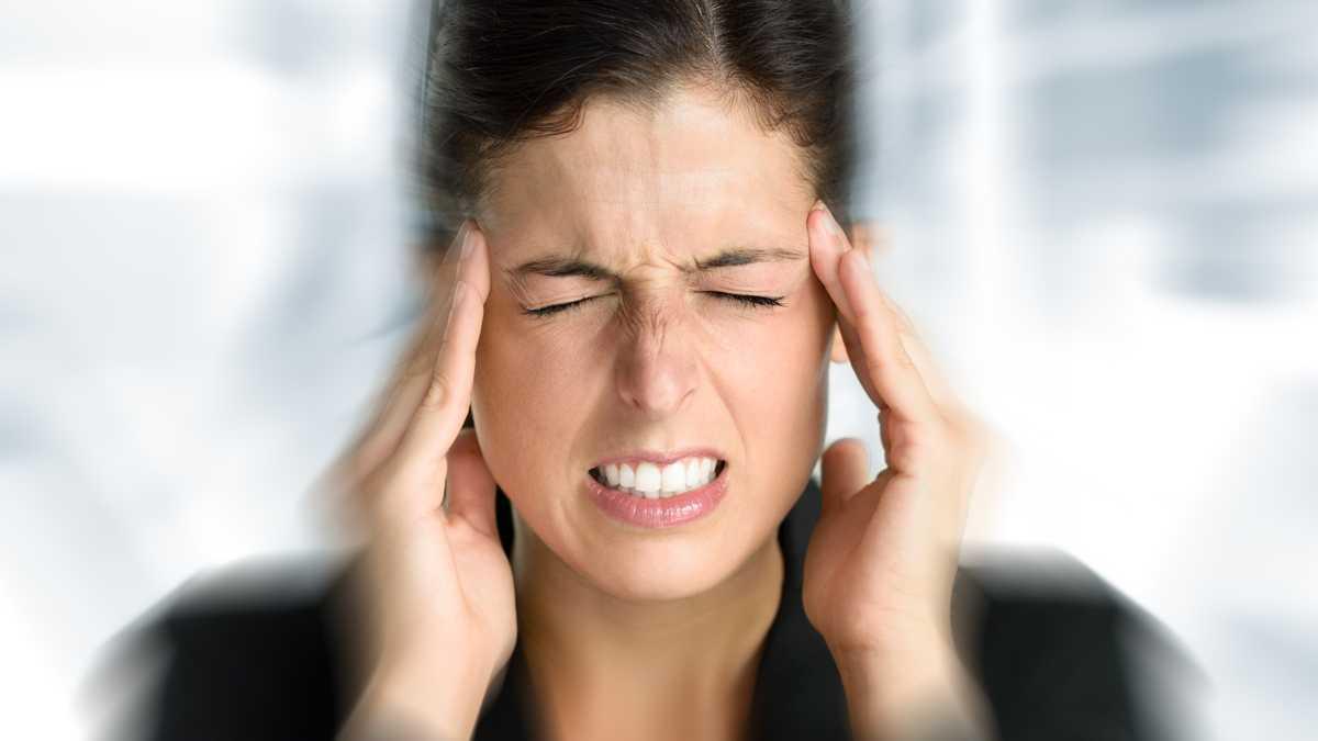 اعراض صداع التوتر 2