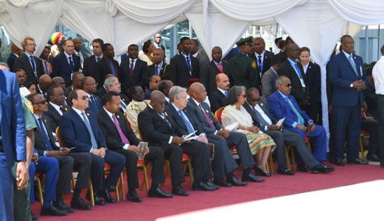 تسليم رئاسة الاتحاد الأفريقى، إلى الرئيس عبد الفتاح السيسى (4)