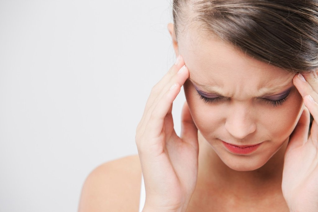 اعراض صداع التوتر الم جانبى الرأس