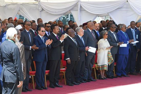 تسليم رئاسة الاتحاد الأفريقى، إلى الرئيس عبد الفتاح السيسى (5)