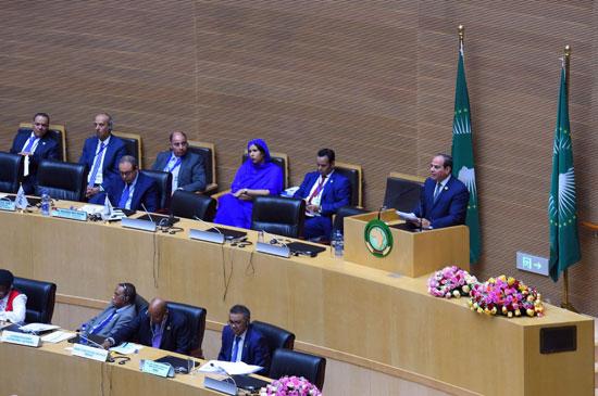 تسليم رئاسة الاتحاد الأفريقى، إلى الرئيس عبد الفتاح السيسى (2)