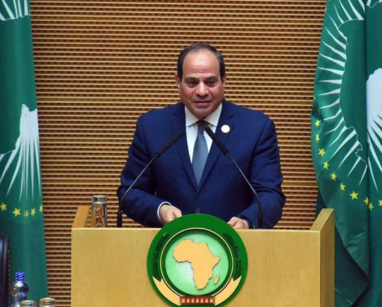 تسليم رئاسة الاتحاد الأفريقى، إلى الرئيس عبد الفتاح السيسى (9)