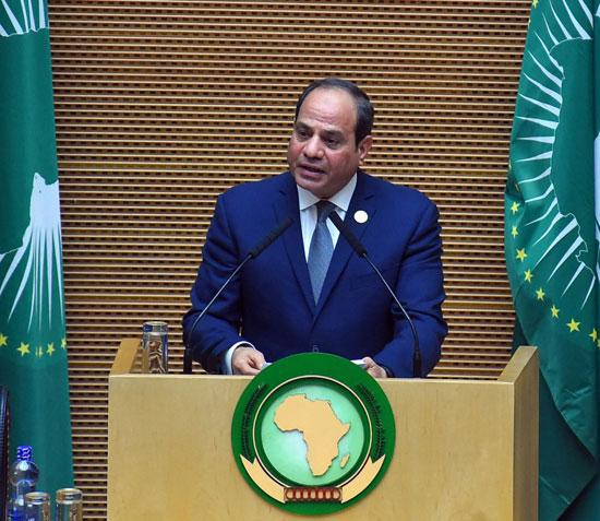 تسليم رئاسة الاتحاد الأفريقى، إلى الرئيس عبد الفتاح السيسى (6)