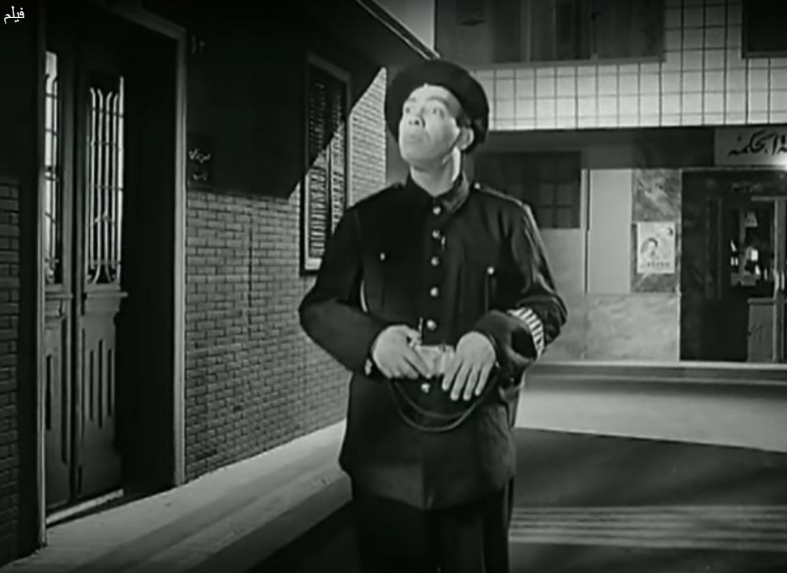 عسكرى الدرك فى فيلم اسمايل ياسين فى البوليس