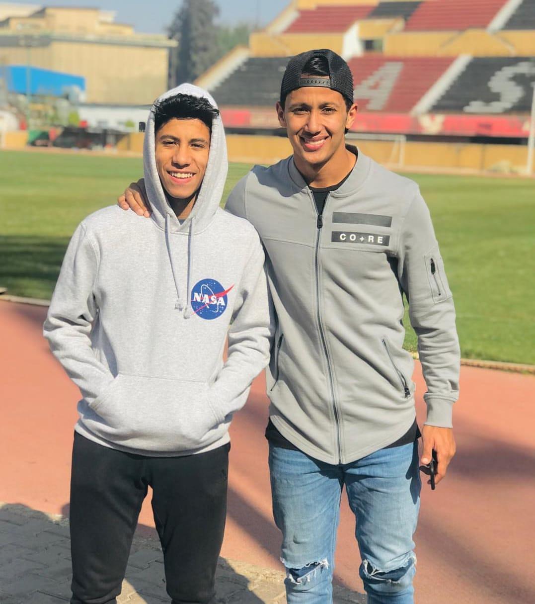عمار حمدى مع عمرو جمال