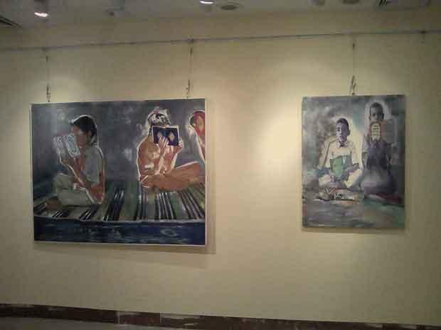 المعرض الطواف الثالث بقصر ثقافة السويس (4)