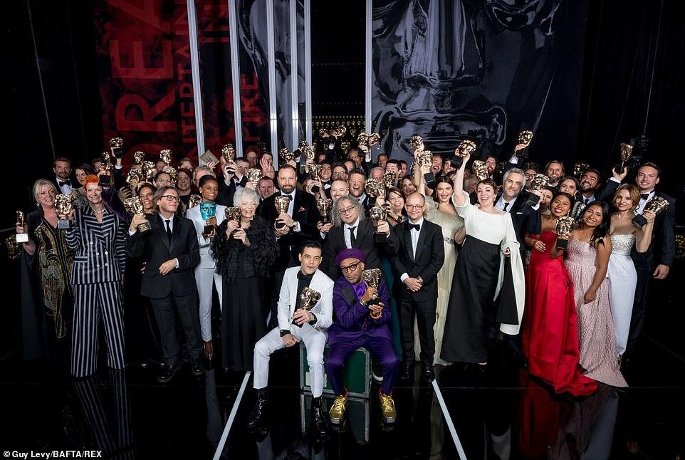 الفائزون بجوائز بافتا لعام 2019