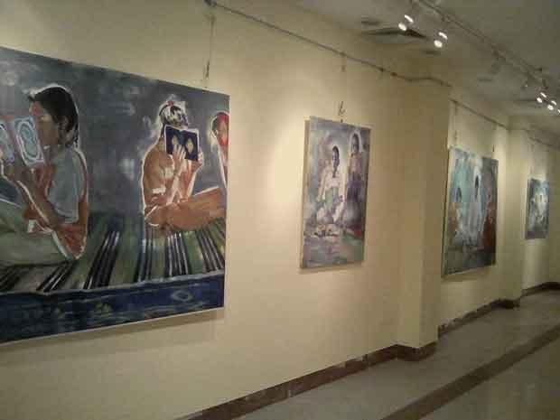 المعرض الطواف الثالث بقصر ثقافة السويس (3)