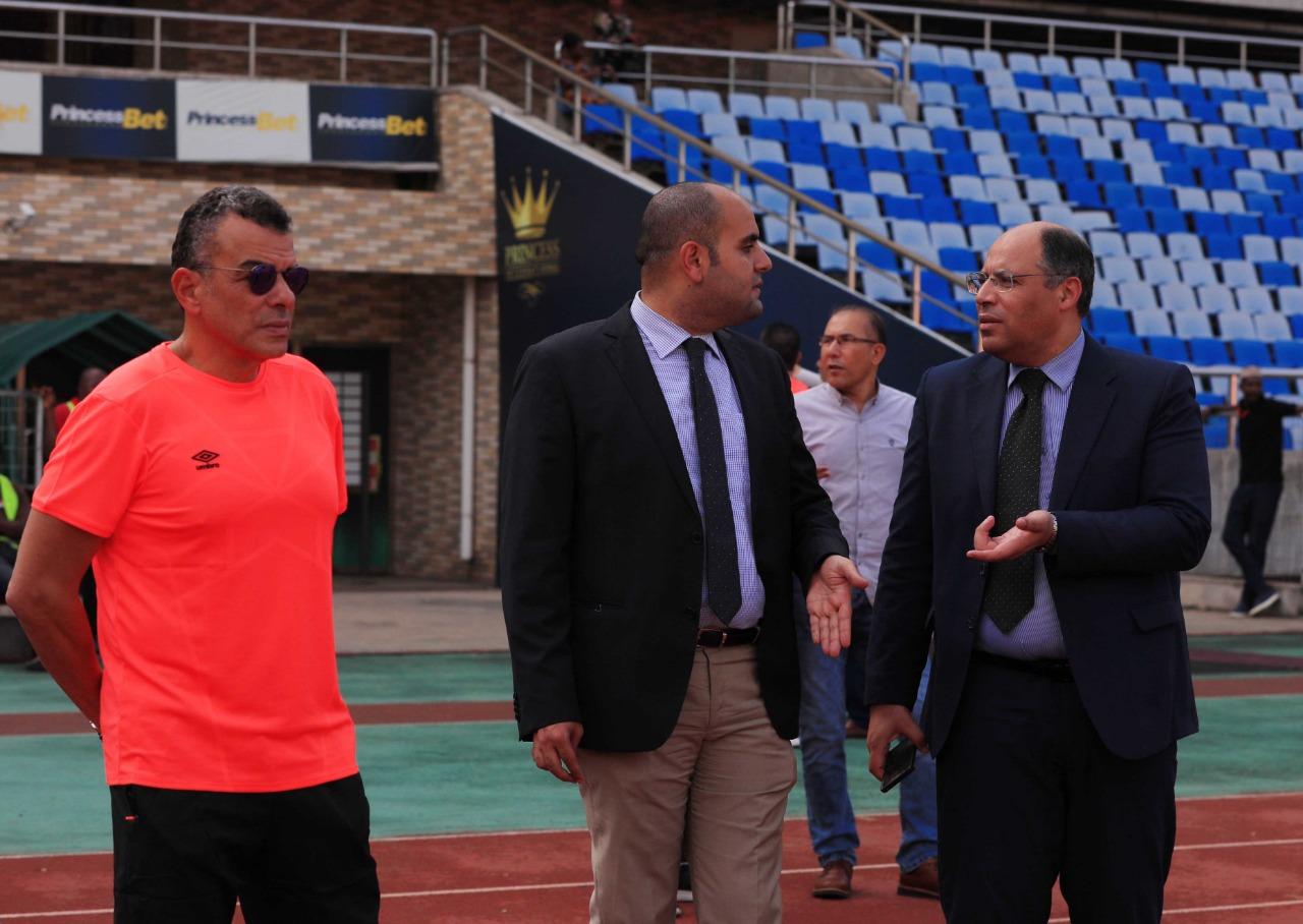 مرتجى مع السفير المصرى فى تنزانيا