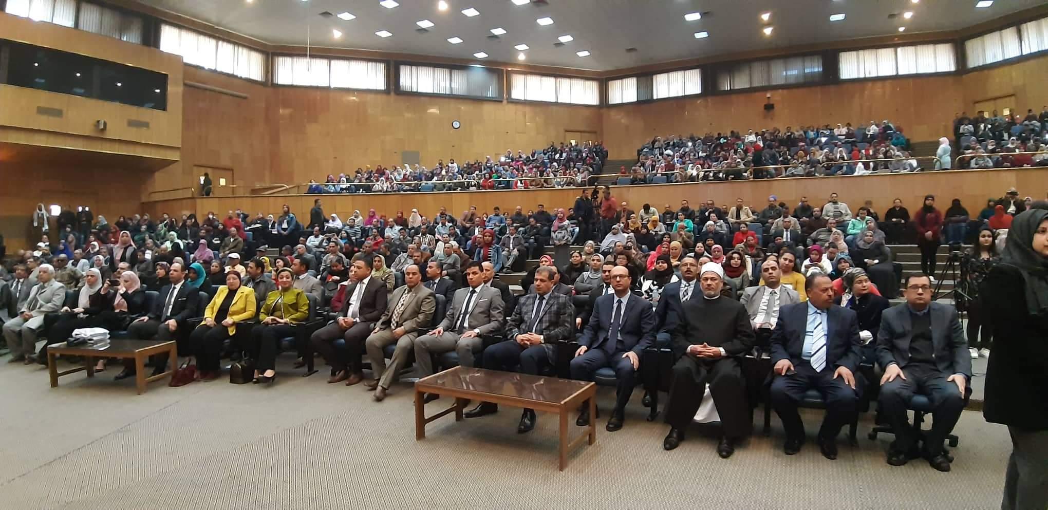 ندوة دور الدولة فى حماية المستهلك بجامعة أسيوط (5)